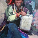 Jove Wang - Tibetan Old Woman