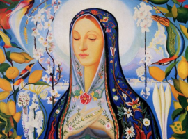 The Virgin- Joseph Stella