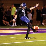 In the first half CLU made three first downs and resorted to punter Zach Shultis six straight times.