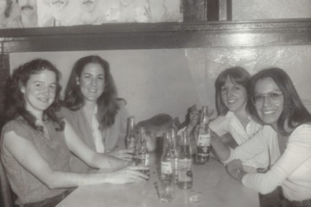 In Ensenada in 1978, from left, are Mullen, Pfahler, Paulson and Sterling.