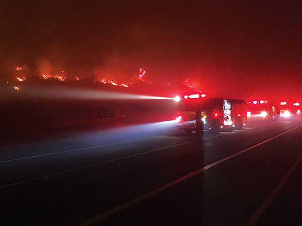 Fire threatens La Conchita copy