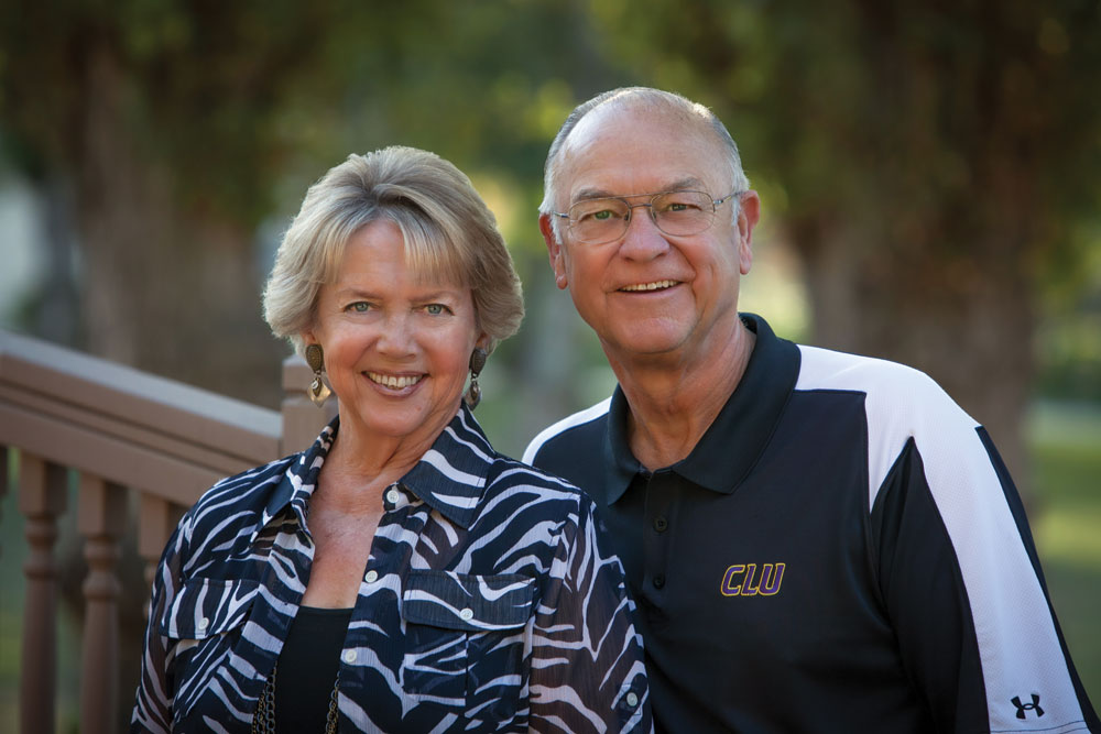 Kirsten (Bodding '64) and Karsten Lundring '65