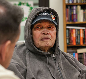 "Army veteran ""Wild Bill"" Begley, 93, remembers the suffering of starving Filipino and American prisoners on the Bataan Death March in 1942. He says he was bayonetted and scheduled for execution."