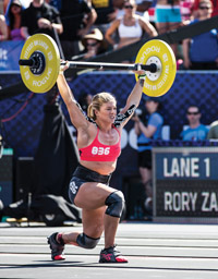 Lindsey (Benson '09) Valenzuela won the silver medal in this year's Reebok CrossFit World Games.