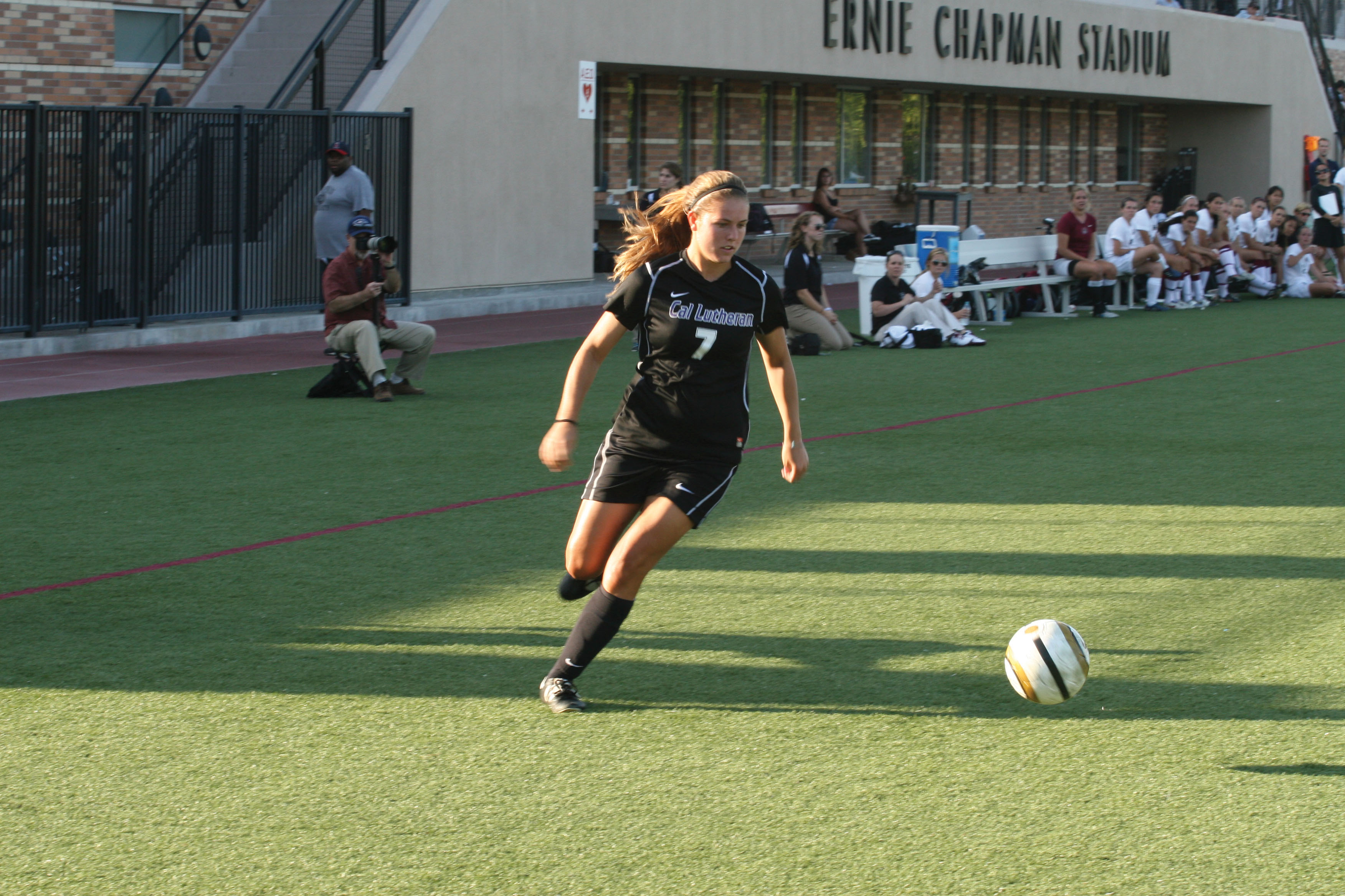 Freshman Taylor Will scored two goals including the game-winner in a 3-2 road victory over Chapman.