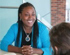 Sharla Berry teaches in a hybrid program and does research on creating inclusive online learning communities.