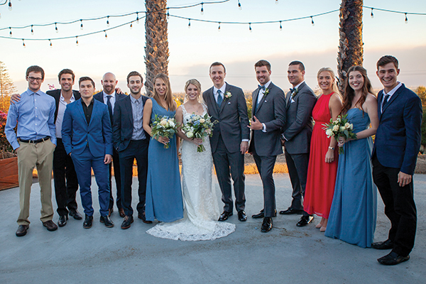 Pictured from left are Kevin Schultz '15, Luke Reddell '16, Tyler Pascoe '15, diving coach Aaron Williams, William Talleur '17, Kaylie Sergott '17, Tianna(Pasko '17) Sondgeroth, Nick Sondgeroth '15, Yannis Moore '15, Andrew Rothans '15, Amalie Melsom '17, Jamie Wood '16 and Ryan Brem '15. (Heather Hamer Photography)