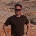 Michael Mayers hiking in Nevada