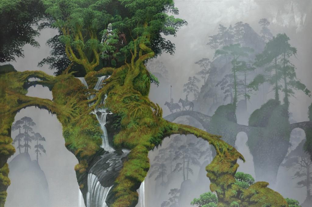 Roger Dean - Ash Waterfall