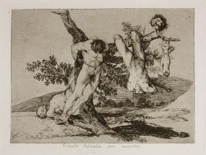 Goya - Los Desastres de la Guerra, plate 39