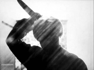 """Still from Alfred Hitchcock's """"Psycho"""""""