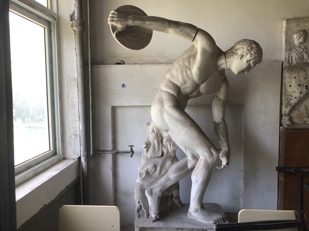 Xu Behong's cast of the Discobolus of Myron