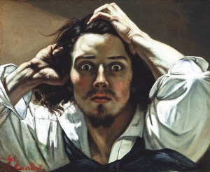 Gustave Courbet - Self-Portrait as the Desperate Man