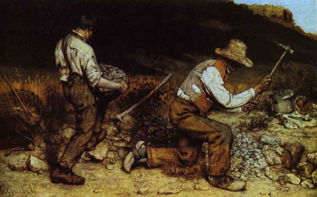 Courbet - The Stonebreakers