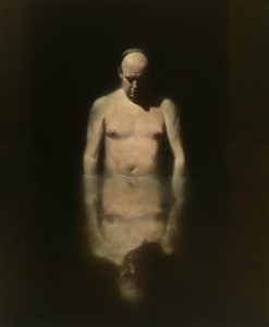Ken Currie, Bath House, 2012, Oil on linen, © Ken Currie, Courtesy of Flowers Gallery London and New York