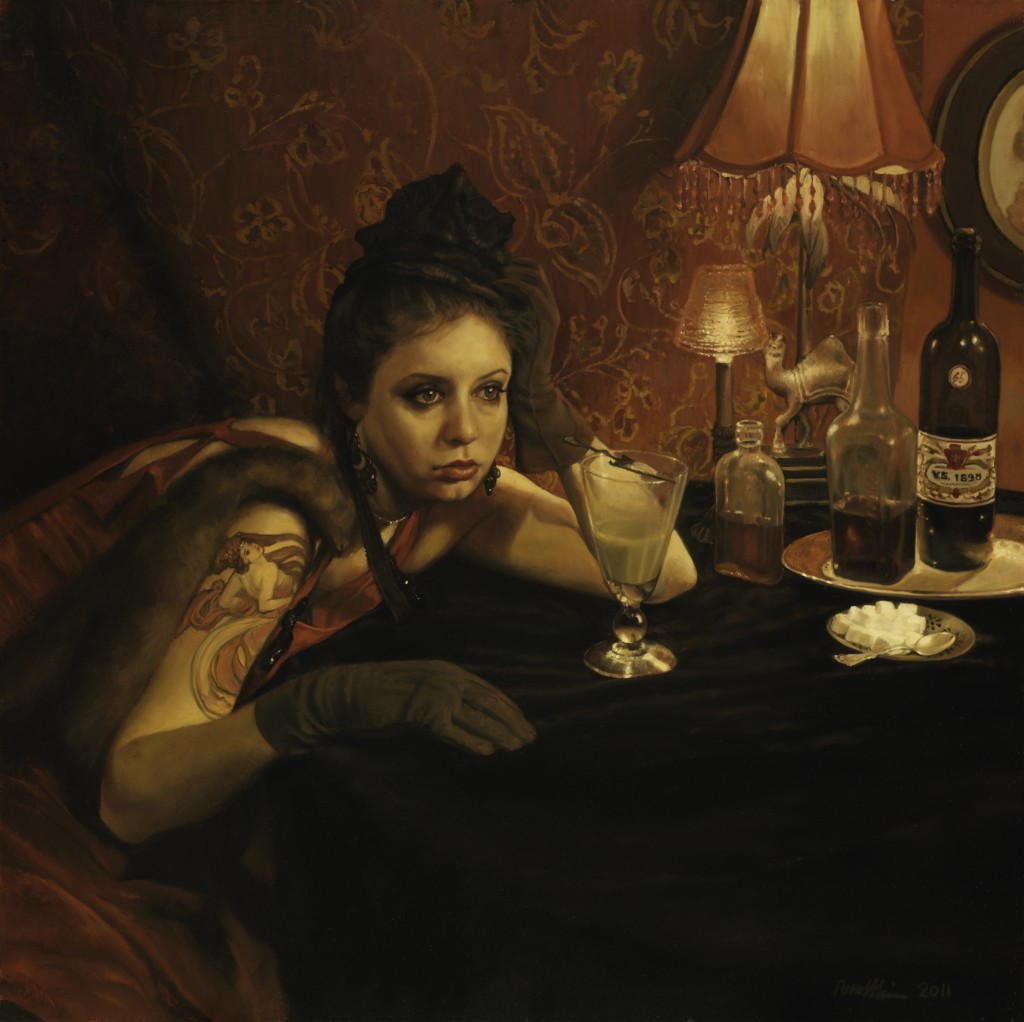 Pamela Wilson - The Absinthe Drinker and the Hostile Silence
