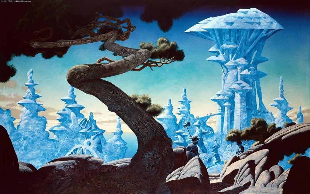 Roger Dean - Freyja's Castle