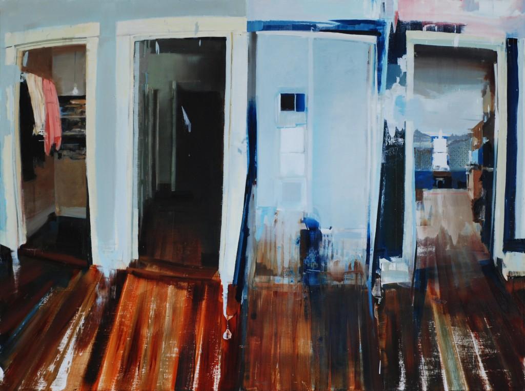 Alex Kanevsky, Four Doors, Photo Alex Kanevsky, Dolby Chadwick Gallery