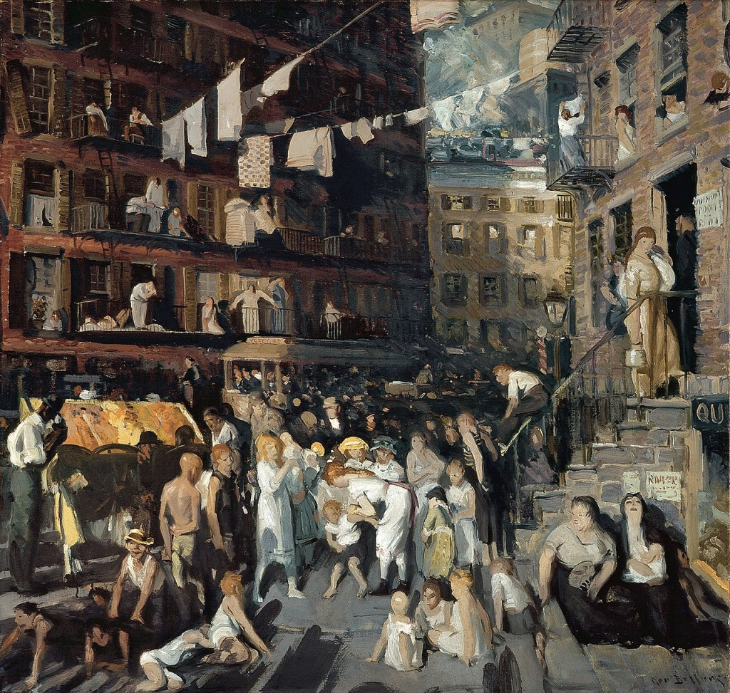 George Bellows - Cliff Dwellers