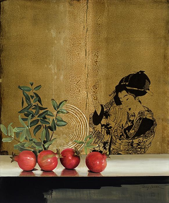 Sherry Loehr - Pomegranate Study