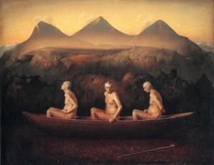 Odd Nerdrum - Three Men at Dawn