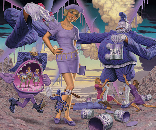 Robert Williams - Purple as an Inexplicable Color