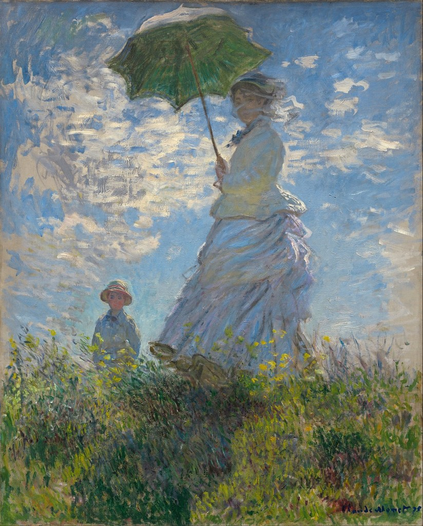 Monet - Woman with Parasol