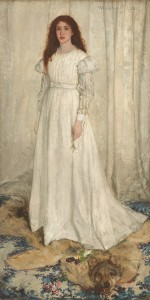 James Abbott McNeill Whistler - Portrait of Joanna Hiffernan
