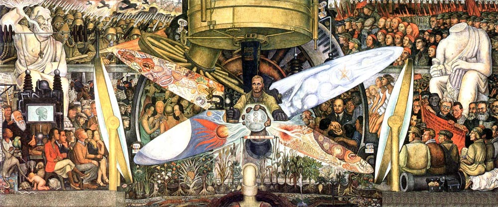 Diego Rivera - Man, Controller of the Universe