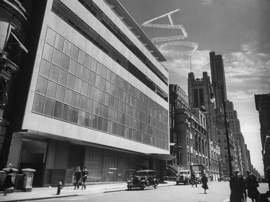 Exterior of MOMA, New York