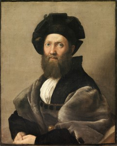 Raphael - Portrait of Baldassare Castiglione