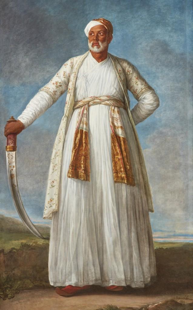 Elizabeth Vigee Lebrun - Portrait of Mohammed Dervish Khan