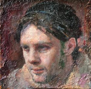 Odd Nerdrum, Portrait of David Molesky
