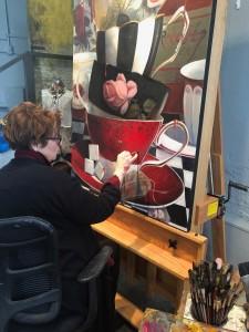 Regina Jacobson at Work