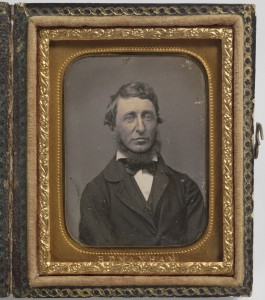Henry David Thoreau - photo by Benjamin D. Maxham. National Portrait Gallery, Smithsonian Institution