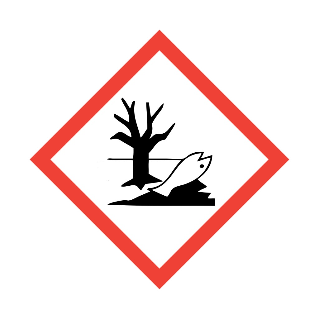 Globally Harmonized System of Classification and Labelling of Chemicals (GHS)  pictogram for environmentally hazardous substances