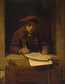 Samuel van Hoogstraten - Zelfportret